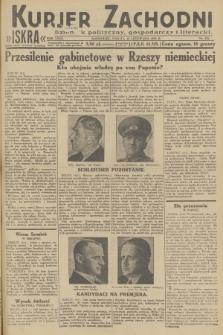 Kurjer Zachodni Iskra : dziennik polityczny, gospodarczy i literacki. R.23, 1932, nr272