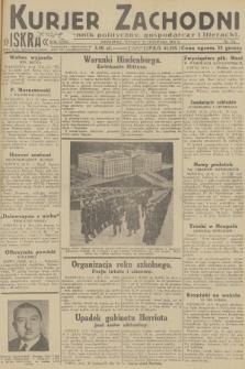 Kurjer Zachodni Iskra : dziennik polityczny, gospodarczy i literacki. R.23, 1932, nr274