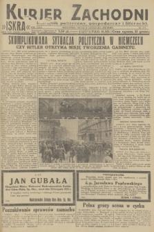 Kurjer Zachodni Iskra : dziennik polityczny, gospodarczy i literacki. R.23, 1932, nr275