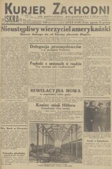 Kurjer Zachodni Iskra : dziennik polityczny, gospodarczy i literacki. R.23, 1932, nr277