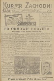 Kurjer Zachodni Iskra : dziennik polityczny, gospodarczy i literacki. R.23, 1932, nr278