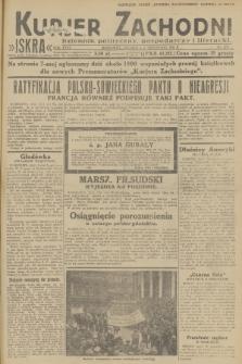 Kurjer Zachodni Iskra : dziennik polityczny, gospodarczy i literacki. R.23, 1932, nr279