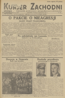 Kurjer Zachodni Iskra : dziennik polityczny, gospodarczy i literacki. R.23, 1932, nr281