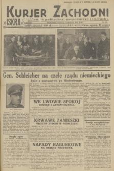 Kurjer Zachodni Iskra : dziennik polityczny, gospodarczy i literacki. R.23, 1932, nr285