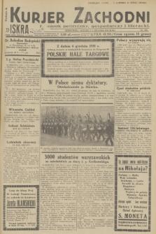 Kurjer Zachodni Iskra : dziennik polityczny, gospodarczy i literacki. R.23, 1932, nr286