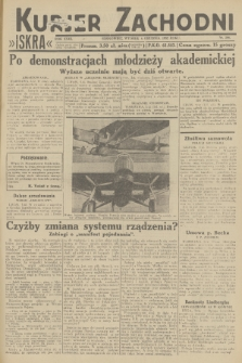 Kurjer Zachodni Iskra. R.23, 1932, nr288