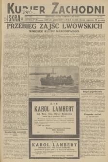 Kurjer Zachodni Iskra. R.23, 1932, nr291