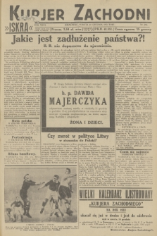 Kurjer Zachodni Iskra. R.23, 1932, nr292