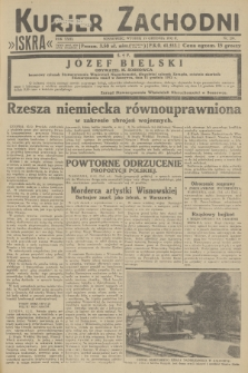 Kurjer Zachodni Iskra. R.23, 1932, nr295