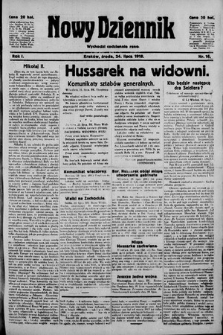 Nowy Dziennik. 1918 , nr16