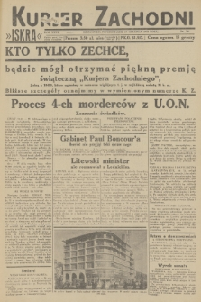 Kurjer Zachodni Iskra. R.23, 1932, nr301