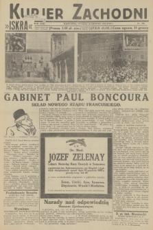 Kurjer Zachodni Iskra. R.23, 1932, nr302