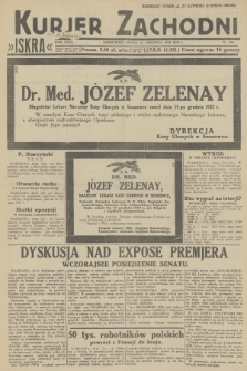 Kurjer Zachodni Iskra. R.23, 1932, nr303
