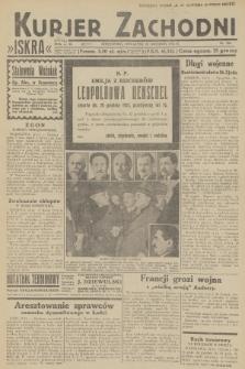 Kurjer Zachodni Iskra. R.23, 1932, nr304