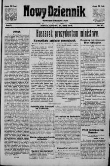 Nowy Dziennik. 1918 , nr17