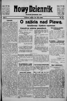 Nowy Dziennik. 1918 , nr18