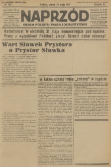 Naprzód : organ Polskiej Partji Socjalistycznej. 1931, nr120