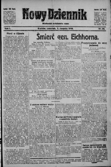 Nowy Dziennik. 1918 , nr24