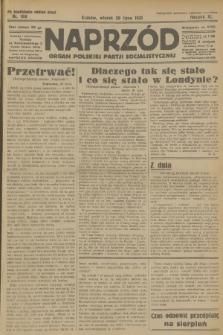 Naprzód : organ Polskiej Partji Socjalistycznej. 1931, nr169