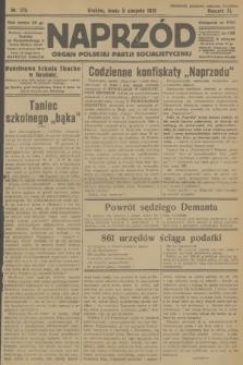 Naprzód : organ Polskiej Partji Socjalistycznej. 1931, nr176