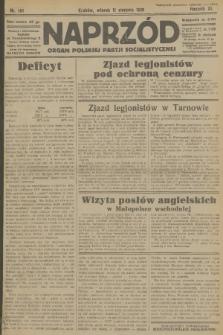 Naprzód : organ Polskiej Partji Socjalistycznej. 1931, nr181