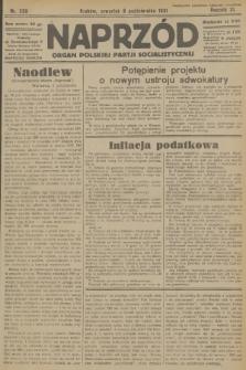 Naprzód : organ Polskiej Partji Socjalistycznej. 1931, nr230