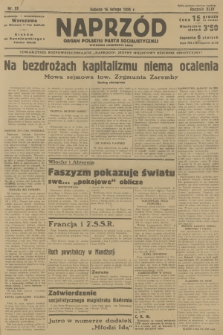 Naprzód : organ Polskiej Partji Socjalistycznej. 1935, nr53