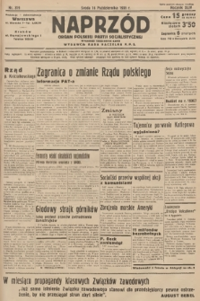 Naprzód : organ Polskiej Partji Socjalistycznej. 1935, nr319