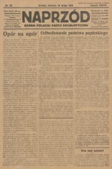 Naprzód : organ Polskiej Partji Socjalistycznej. 1929, nr33