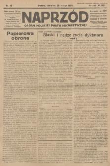 Naprzód : organ Polskiej Partji Socjalistycznej. 1929, nr48