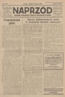 Naprzód : organ Polskiej Partji Socjalistycznej. 1929, nr56