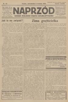 Naprzód : organ Polskiej Partji Socjalistycznej. 1929, nr80