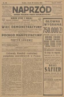 Naprzód : organ Polskiej Partji Socjalistycznej. 1929, nr99