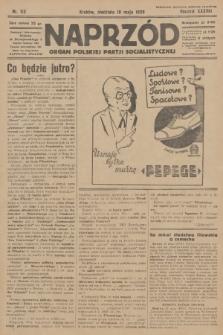 Naprzód : organ Polskiej Partji Socjalistycznej. 1929, nr112