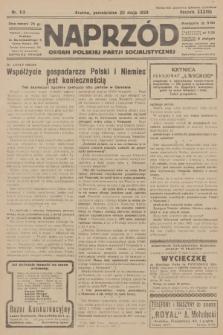 Naprzód : organ Polskiej Partji Socjalistycznej. 1929, nr113
