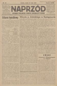 Naprzód : organ Polskiej Partji Socjalistycznej. 1929, nr115