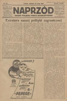 Naprzód : organ Polskiej Partji Socjalistycznej. 1929, nr117