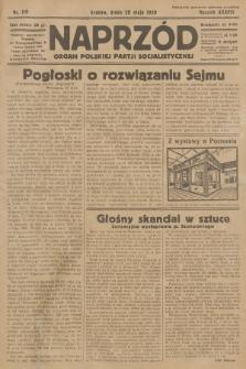 Naprzód : organ Polskiej Partji Socjalistycznej. 1929, nr119