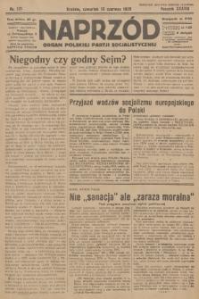 Naprzód : organ Polskiej Partji Socjalistycznej. 1929, nr131