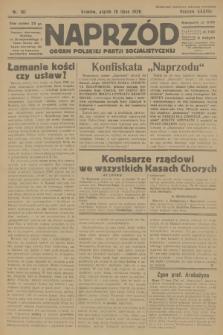 Naprzód : organ Polskiej Partji Socjalistycznej. 1929, nr161