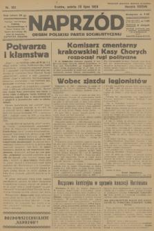 Naprzód : organ Polskiej Partji Socjalistycznej. 1929, nr162