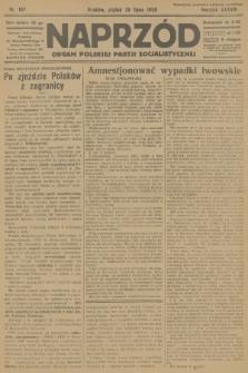 Naprzód : organ Polskiej Partji Socjalistycznej. 1929, nr167