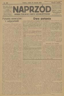 Naprzód : organ Polskiej Partji Socjalistycznej. 1929, nr180