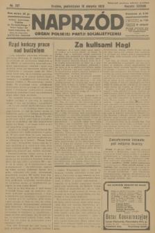Naprzód : organ Polskiej Partji Socjalistycznej. 1929, nr187