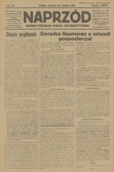 Naprzód : organ Polskiej Partji Socjalistycznej. 1929, nr192