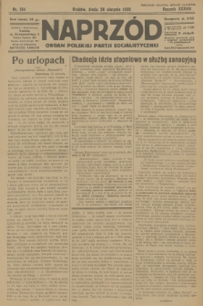 Naprzód : organ Polskiej Partji Socjalistycznej. 1929, nr194
