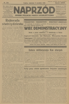 Naprzód : organ Polskiej Partji Socjalistycznej. 1929, nr204