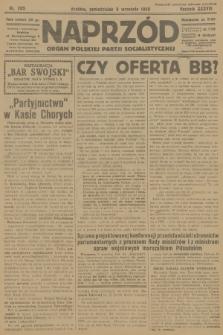 Naprzód : organ Polskiej Partji Socjalistycznej. 1929, nr205