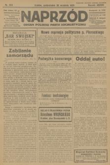 Naprzód : organ Polskiej Partji Socjalistycznej. 1929, nr223