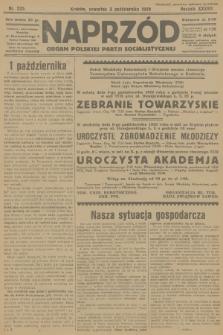 Naprzód : organ Polskiej Partji Socjalistycznej. 1929, nr225